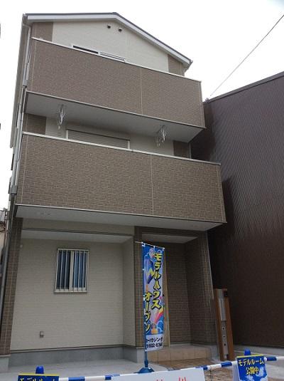 大阪市城東区成育4丁目 新築一戸建ての写真